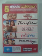 LIFE OR SOMETHING/PICTURE PERFECT/ONE FINE DAY/CATS & DOGS/SOMEONE LIKE DVD SET