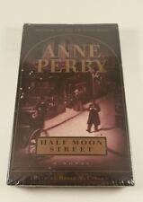 NEW Half Moon Street (Charlotte & Thomas Pitt Novels) Anne Perry AUDIO CASSETTE