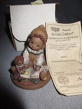 All God'S Children Mitzi Figure 1998 With Box And Coa Excellent *