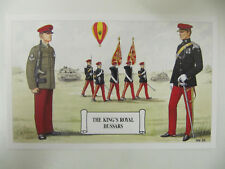 The King's Royal Hussars - Military Postcard (Geoff White Ltd.)