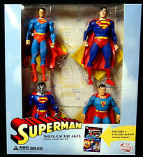 Superman Through the Ages Boxed Figure Set New DC Comics  2006