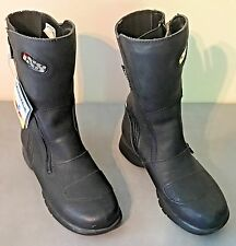 NEW Ixs Veratex Motorcycle Riding Boots Sz 35 $ 2 TRAIN AUTISM SERVICE DOG 4 SON