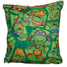 Teen Age Mutant Ninja Turtle Pillow TMNT Pillow Grouped Turtles HANDMADE In USA