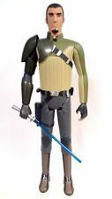 """Jakks Big Figs 2014 Star Wars Rebels 19"""" Kanan Jarrus action figure + lightsaber"""