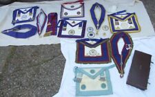 Job Lot of Masons Masonic Aprons Sashes Medals Jewels West Kent & Kent