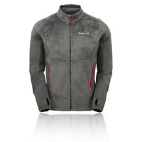 Montane Mens Wolf Jacket Top - Grey Sports Outdoors Full Zip Warm Breathable