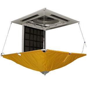 Klimaanlage R410a / R32 Reinigungsschutzplane für Deckengerät 1150 x 1150 mmm