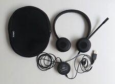 Jabra Evolve 30 MS Stereo Microphone Headset Optimized For Microsoft Lync