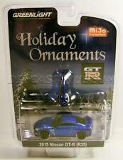 2015 '15 NISSAN GTR R35 HOLIDAY ORNAMENTS XMAS MIJO 2016 GREENLIGHT