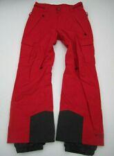 Mens Small Columbia Titanium Omni Heat Tech red snowboarding snow pants