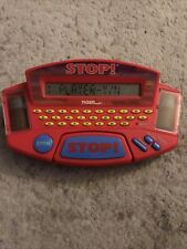 New ListingVintage Stop! Handheld Game Electronic Trivia Tiger Electronics 1998 Nice
