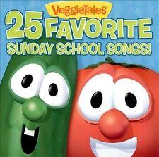 VeggieTales - 25 Favorite Sunday School Songs [New CD] Veggie Tales