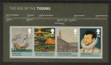 GB MNH 2009 ms2930 Kings E Queens-HOUSE OF Tudor MINISHEET
