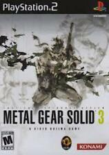 Metal Gear Solid 3: Tactical Espionage Action (2005) - (Complete CIB, Tested) -