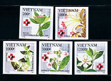 N.660-Vietnam-IMPERF-Medicinal herbs set 5 1993
