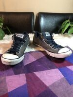 Converse Mens 11 Womens Size 13 Chuck Taylor All Star OX 137695F Charcoal