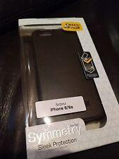 OTTER BOX Sleek Protection Case for iPhone 6/6s BLACK Drop/1-pc Design BNIB