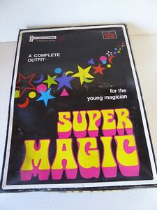 Vintage Peter Pan Playthings Super Magic Young Magician Set 1973