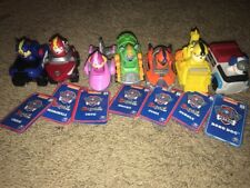 Paw Patrol SEA PATROL Vehicels Racers Toys Set Lot of 7 Robo Dog
