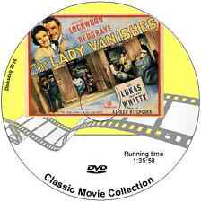 The Lady Vanishes - Margaret Lockwood, Michael Redgrave - Alfred Hitchcock DVD