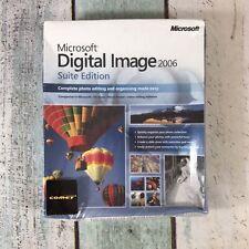 Microsoft Digital Image Suite 2006 Fotobearbeitung organisieren Software PC-versiegelt