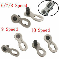 2PCS MTB Bicycle Chain Master Joint Link Connector Lock for 6/7/8/10 Speed