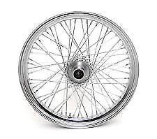 Chrome Motorcycle Spoked Wheels