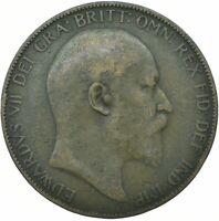 ONE PENNY COIN - EDWARD VII.  CHOOSE YOUR DATE!     ONE COIN/BUY!