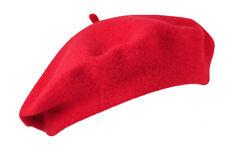 Béret rouge 100 % laine taille unique adult fetes estive transhumance pays basqu