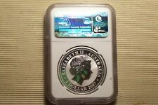 2007-2010 tiger ngc ms69 silver coin