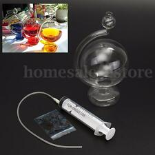 Weather Glass Storm Forecast Predictor Bottle Barometer Pigment Vase Home Decor