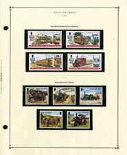 Great Britain Isle of Man All Mint Nh Stamp Collection Loaded w/ Complete Sets