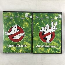 Ghostbusters 1 & 2 1984-89 DVD Set w Real Animated Episodes Storyboards Classic