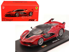 FERRARI FXX-K RED #88 SIGNATURE SERIES 1/43 DIECAST MODEL BY BBURAGO 36906
