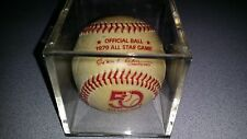 RAWLINGS 1979 ALL STAR GAME LOGO BASEBALL W/ CASE OML MLB  !!FREE SHIPPING!!