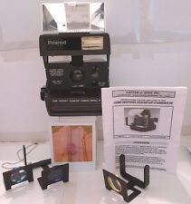 Polaroid 600 Dine Model IV Close-Up Instant Camera +3 Lenses +Case &Instructions