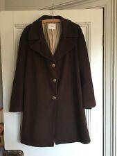 JOOP! Ladies Brown Knee Length Coat