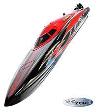 RC Speedboot Rennboot Bullet V3 70km/h 4S LIPO 2,4GHZ Brushless 73cm