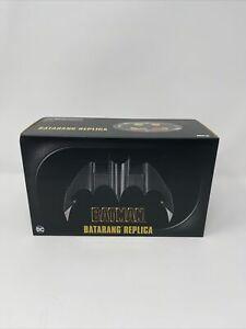"NECA Batman Batarang Replica 1989 Movie Prop SEALED 7"" Inches Wide w/ Stand NEW"