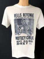 Motley Crue  T Shirt  Concert Tour T-shirt Distressed Vintage Style Rare New