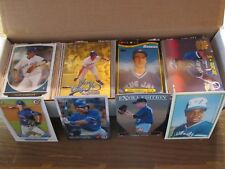 TORONTO BLUE JAYS LARGE 500 CARD LOT, INSERTS, ROOKIES & PARALLEL CARDS ONLY