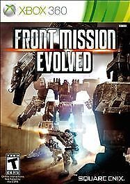 Front Mission Evolved (Xbox 360, 2010) BONUS WANZERS INCLUDED NEW FACTORY SEALED