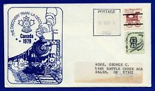 US #1581a & #1903 Precancels The Discovery Train Canada Cachet Cover 1983?