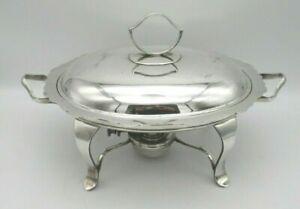 Antique Silver Plated Breakfast Dish / Warmer by Fenton Bros