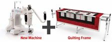 NEW - Q'nique 15M (Manual) Long Arm Quilting Machine with Grace SR2+ Frame/Table