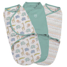 Summer Infant Swaddle Me Original Sketchy Safari Small 3 Pack