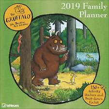 Gruffalo Family Planner 2018 - 2019 Family Month To View