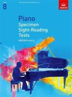 Piano Specimen Sight-Reading Tests Grade 8 ABRSM  9781860969126