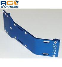 GPM Racing Tamiya Terra Crusher Blue Aluminum Front Skid Plate TEC1331F