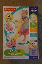 NEW Fisher-Price Laugh & Learn Sis' Smart Stages Push Car